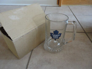 Brand new in box Toronto Maple Leafs glass beer mug London Ontario image 1