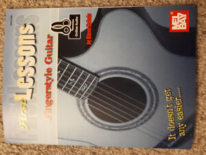 NEW First Lessons Fingerstyle Guitar Book