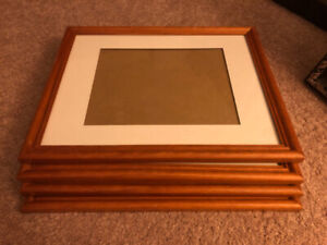 4 Wood Picture Frames.