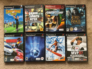 PS2 with 20 games