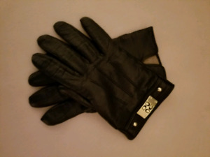 Women's Coach leather gloves