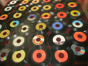Records--45 RPM--Various Bands from the 1970's