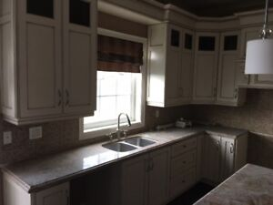 BUILDERS KITCHEN CABINETS FROM MODEL HOME