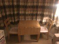 Table and 2 x Chair set