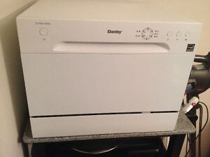 Practically NEW Used Twice Danby Counter Dishwasher