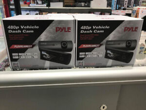 DUAL DASH CAMERA 480P BRAND NEW PYLE