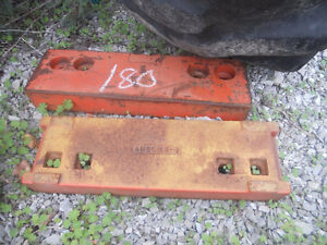 Allis Chalmers slab weights