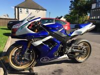 Yamaha YZF R1 2005 Track bike very low miles £2999