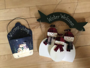 Winter Welcome Decorations