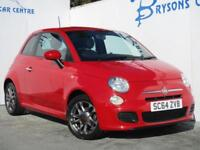2014 64 Fiat 500 1.2 ( 69bhp ) S Manual for sale in AYRSHIRE