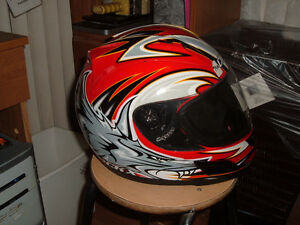 NEW CRASH HELMET CKX SIZE IS XL STILL IN BOX
