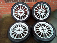 MINI ALLOYS + TYRES - 17 inch Imola style (set 1)