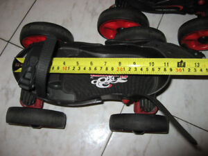 Rollerblade scorpion grandeur ajustable ,suspension