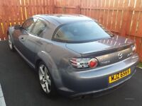 2007 RX8 Mazda 4 ports 192bhp Make me an offer
