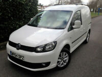 2014 64 VOLKSWAGEN CADDY 1.6TDI 102PS C20 HIGHLINE B-TECH MASSIVE SPEC VAN !!!
