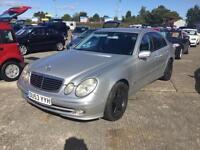 2003 Mercedes-Benz E320 3.2TD auto CDI Avantgarde