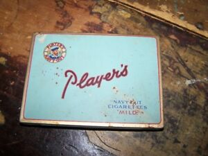 Vintage Advertising Tobacco Tin Players Navy Cut Mild