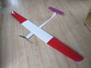 Electric Powered RC Model Glider