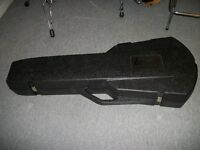 80's Gibson Les Paul Chainsaw Case with Rare Brown Interior