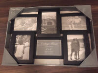 Collage photo frame - holds 6