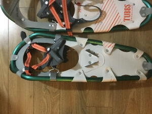 Snowshoes Tubbs 25 Xplore, brand new, great for 120 to 200 lbs