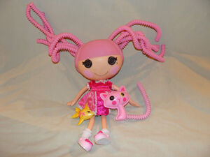 Lalaloopsy Jewel Sparkles Silly Hair with pets