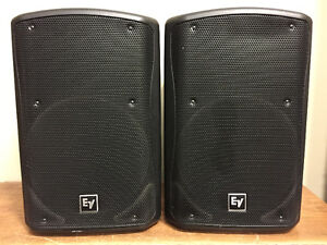 Electro-Voice ZXA5 15-inch Powered Speaker Pair With Covers