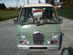 Unique, cute mini van excellent for promoting your business.