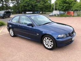 BMW 3 SERIES 316Ti ES (blue) 2003