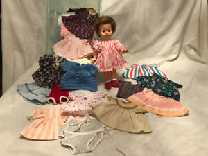 "10 inch doll and hand-made doll clothes ""SOLD"""