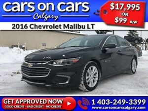 2016 Chevrolet Malibu LT w/BackUp Cam, BlueTooth, Satellite Radi