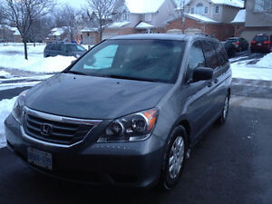 2009 Honda Odyssey LX, one owner, low mileage, no accident