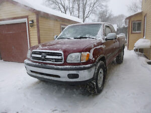 2000 to 2006 Toyota Tundra Pickup Truck Parts truck