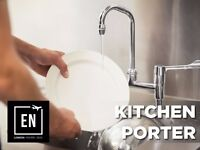 Kitchen Porters needed in Central London