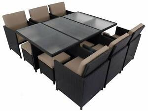 NEW 12 Seater Wicker Outdoor Dining Furniture - Wollongong Areas