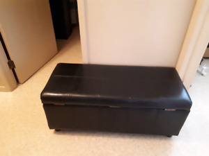 Two storage ottomans  $30 takes both of them