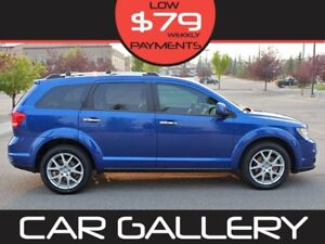 2015 Dodge Journey R/T AWD 7 Pass w/Leather, Navi, BackUp Cam $7