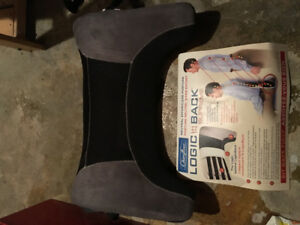 Back support chair cushion