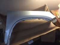 Vw Tiguan front drivers wing in silver 2009-2010 model