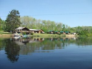 Waterfront Cottage Resort for sale.