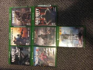 Xbox One Games For Sale Kitchener / Waterloo Kitchener Area image 1