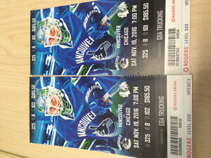 Great seats for Canucks game