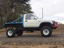 Toyota Hi-Lux 2.2 4WD Trayback LPG Monster Truck 1992 Mk3