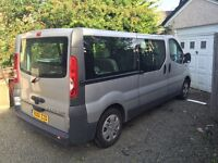 Vivaro 8 seater Lwb ( 9 seater )