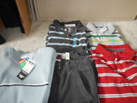 Boys Cords shirts sweaters - BRAND NEW Size 12/14