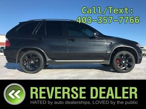 2006 BMW X5 4.8is  4.8is Model, Black on BLack Leather, Huge Sun