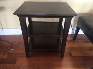 Various Wood End Tables