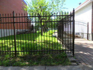 IRON/STEEL FENCE (NOT CHINESE METAL)