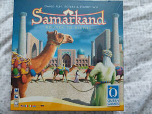 Samarkand: Routes to Riches (Board Game) [Brand New Sealed]