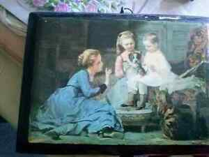Multiple pieces: Making Friends; painting **PRINT** by Amable Lo Kitchener / Waterloo Kitchener Area image 1